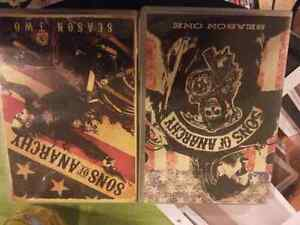Sons of anarchy seasons one and two dvd Kitchener / Waterloo Kitchener Area image 1