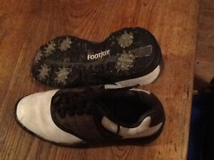 Boys/youth/men's leather Footjoy golf shoes