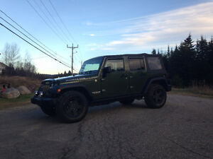 2008 Jeep TJ rubicon VUS