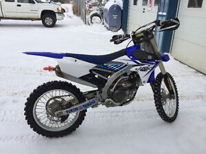 2014 yz 450f sno bike ready!!!