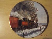 Canadian Pacific Railway Plate by Ted Xaras