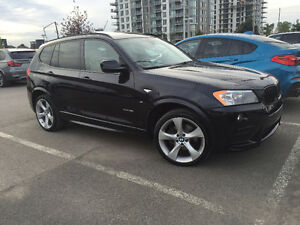 2014 BMW X3 xDrive35i M PACK, 6cyl TURBO FULL WARRANTY!
