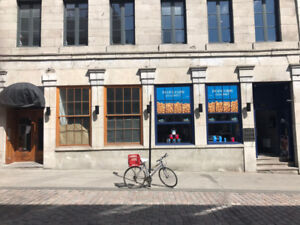 New! Old Montreal Restaurant/Bar Space For Rent on St Paul East!