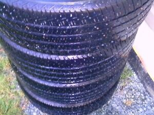 for sale four firestone all season tires size 215/60/r16