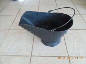 Coal Pail from 1942 Antique Made of Metal