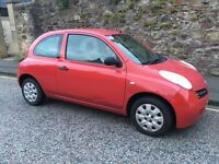 2003 NISSAN MICRA 1.0 SUPERB DRIVER LONG MOT PX