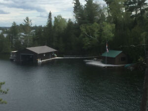 PRIVATE ISLAND for SALE on Lake Temagami
