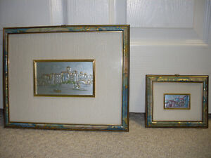 Italian framed art