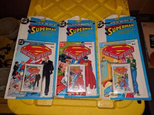 Vintage DC Comics 1989 Superman series Cassette tape