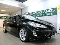 Peugeot 308 2.0 HDI FAP SE COUPE CABRIO AUTO [4X PEUGEEOT SERVICES and SAT NAV]