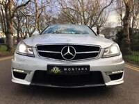 2012 (12) Mercedes Benz C63 AMG AUTO in Silver, FMBSH, EXPLOSIVE POWER!!!!!!!!!!