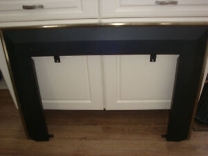 Heavy Duty Decorative Frame for Gas Fireplace or Wood Stove