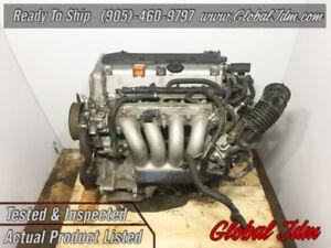 JDM 03-11 Honda Accord Element 2.4L DOHC VTEC K24A Engine Motor