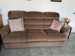 Recliner couch and rocker recliner