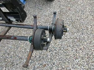MATCHING SET OF 3,500 POUND AXLES
