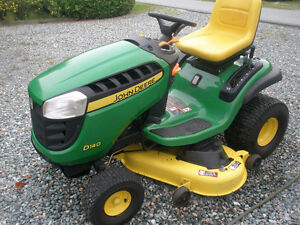 tracteur john deer d 140 negociable