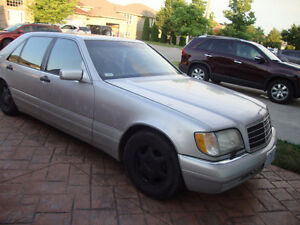 1999 Mercedes-Benz 500-Series silver for door v8 auto lether sea