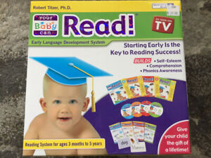 Like New- Your Baby Can Read Kit