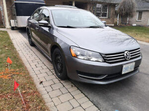 2014 Volkswagen Passat Trendline Sedan W/ Winter set of tires
