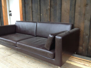 IKEA Faux Leather Couch