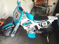 Kids large motorised motorbike motocross