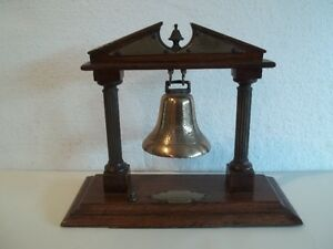 Mounted Brass Bell