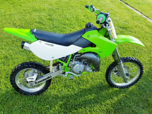 2009 Kawasaki 65cc Youth Dirt Bike