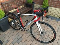 Ribble pro carbon sportive - 105 group set, 52cm custom build road bike