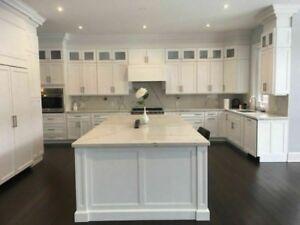 Quartz and Granite Marble  Countertops, free sink416-533-3355