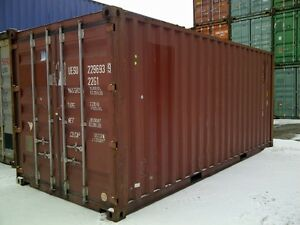 ****USED & NEW SHIPPING CONTAINERS IN OTTAWA/GATINEAU****