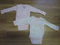 BABY GIRLS ONESIES - SIZE 6 to 18 MONTHS - $6.00 for LOT