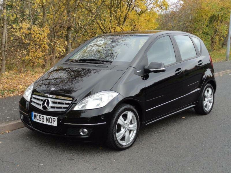2008 mercedes benz a class 1 5 a150 avantgarde se cvt 5dr in stourport on severn. Black Bedroom Furniture Sets. Home Design Ideas