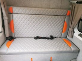 Campervan bed cushions