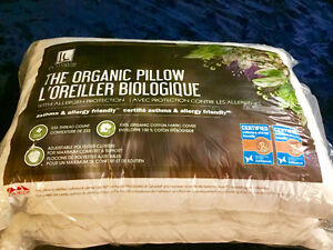 Two Alergy/Asthma Friendly Pillows
