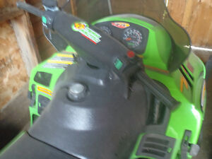 For Sale ZR Artic Cat Snowmobile Moose Jaw Regina Area image 3