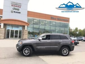 2016 Jeep Grand Cherokee Limited  ACCIDENT FREE, LEATHER HEATED