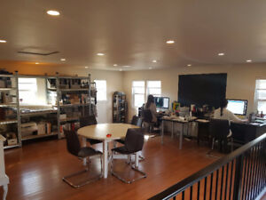 Comercial office space for lease.