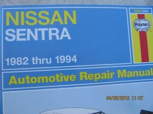 nissan books and parts
