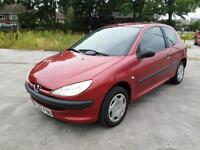 Peugeot 206 1.1 2002MY Style
