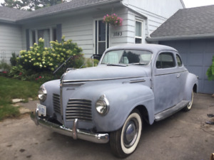 1940 Plymouth coupe.