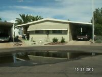 BEAUTIFUL MOBILE HOME IN CITRUS GARDENS -MESA, AZ FOR RENT