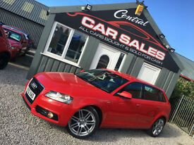 AUDI A3 2.0TDI ( 140ps ) S LINE SPORTBACK MANUAL FINANCE & PARTX WELCOME