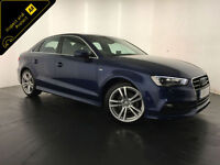 2015 AUDI A3 S LINE TDI DIESEL 1 OWNER SERVICE HISTORY FINANCE PX WELCOME