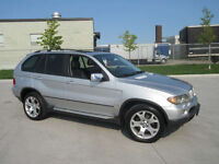 2004 BMW X5  AWD, Leather, Sunroof, up to 3 years  warranty.