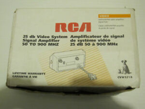 RCA Cable Amplifier - Make Me an Offer