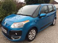 **CITROEN C3 PICASSO 1.6HDi ( 92bhp ) VTR+ IN BLUE**NOW SOLD**NOW SOLD**