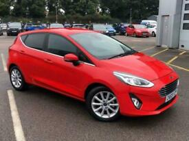 image for 2019 Ford Fiesta 5Dr Titanium 1.0 100PS Auto Hatchback Petrol Automatic
