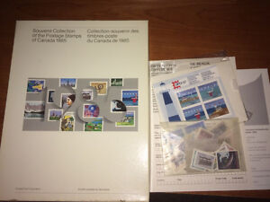 1985 Canadian Souvenir Stamp Collection