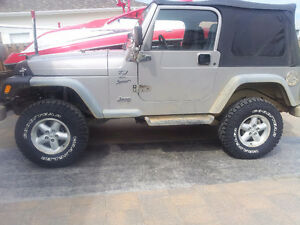 2001 Jeep TJ Sport SUV, Crossover