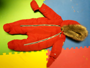 Canadiana Baby Winter Suit
